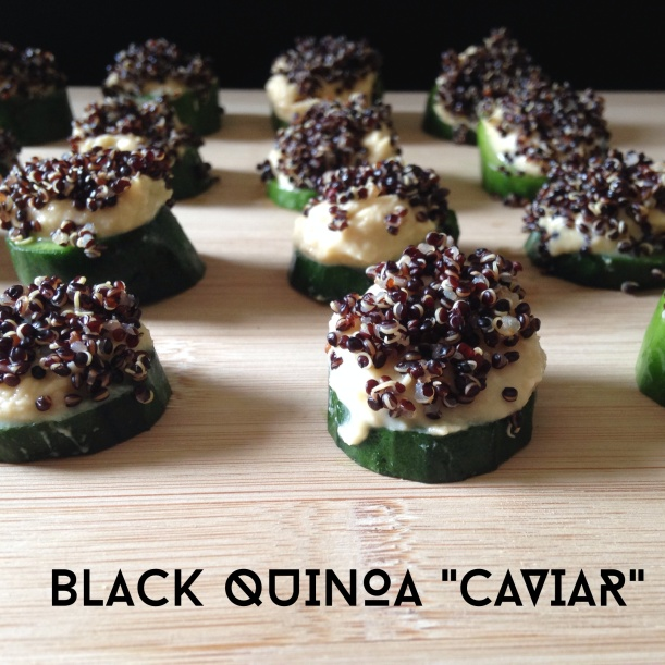 Black Quinoa Caviar