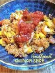 quinoa bake finished