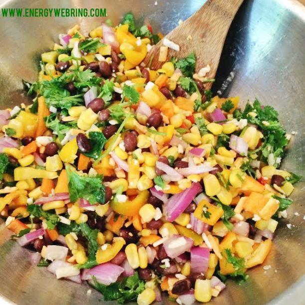 quinoa bake prep