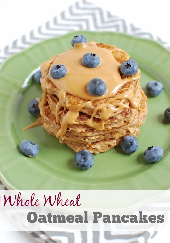 whole-wheat-oatmeal-pancakes
