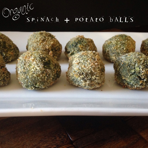 Spinach + Potato Balls