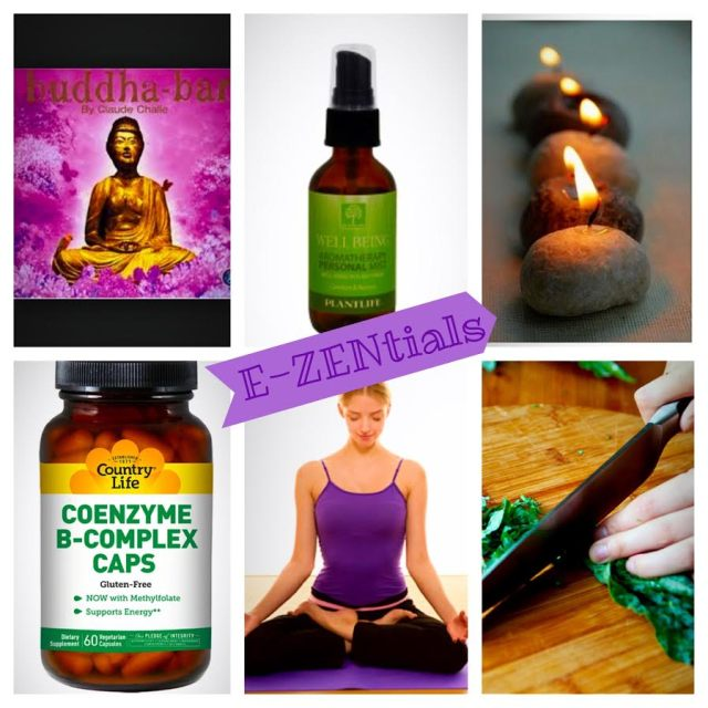 E-Zentials for Stress Relief