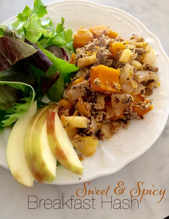 Sweet and Spicy Breakfast Hash