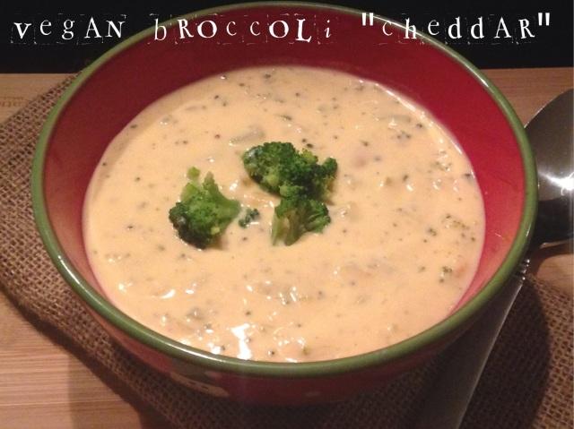 Vegan Broccoli Cheddar