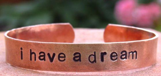 i have a dream bracelet